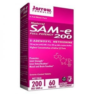Sam-e by Jarrow 200mg (60 tabs)