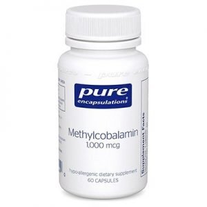 B12 - Methylcobalamin by Pure Encapsulations - 60 capsules (1000 mcg )